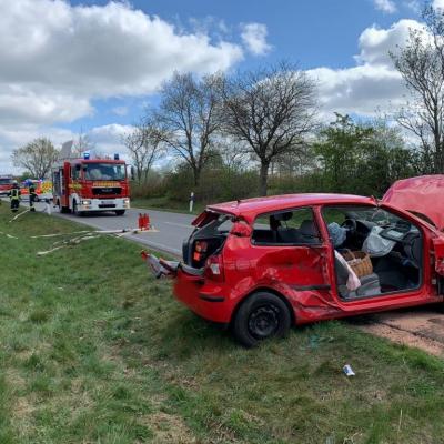 Verkehrsunfall auf der K39